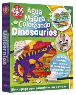 Agua Mágica Coloreando Dinosaurios