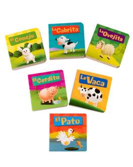 Animales de Granja 6 libritos