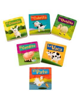 Pack Mini Libros Cuentos Granja Y Animales