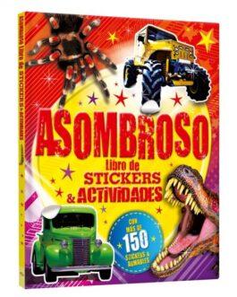 Asombroso Libro de Stickers y Actividades
