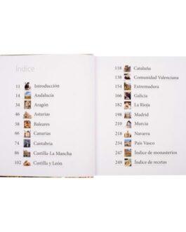Atlas Ilustrado La cocina de Conventos y Monasterios