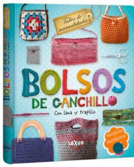 Bolsos De Ganchillo Con Lana Y Trapillo