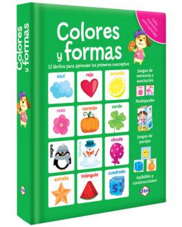 Colores y Formas 12 Libritos de Cartón