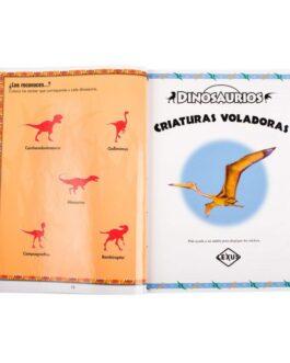 Dinosaurios Libro con Super Stickers