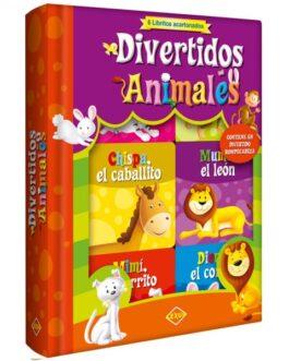 Divertidos Animales – 6 Libritos Acartonados