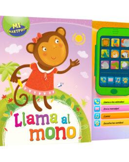 Llama Al Mono + Smartphone