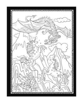 La Sociedad Mágica de los Unicornios + Libro para Colorear