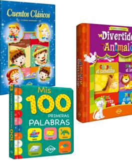 Libros Infantiles – Pack X 3 Unidades