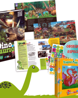 Oferta Infantil Dinosaurios 3D y Dragones magicos