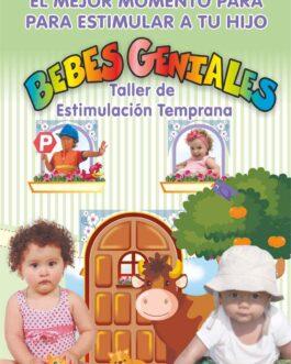 Taller De Estimulación Temprana – Bebés Geniales