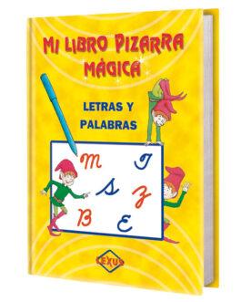 Mi Libro Pizarra Mágica Letras y Palabras