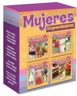 Mujeres Emprendedoras 4 Tomos