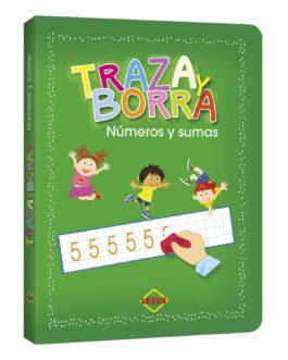 Traza y Borra Letras y Palabras Números y Sumas